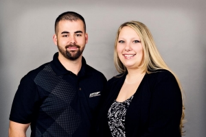 Johnny and Jessica of J and J Home Inspections