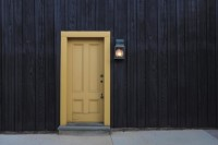 front door of house - what is a home inspector?