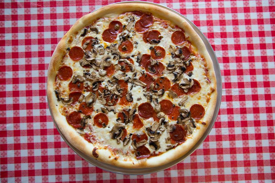 pepperoni pizza from one of our favorite brentwood restaurants